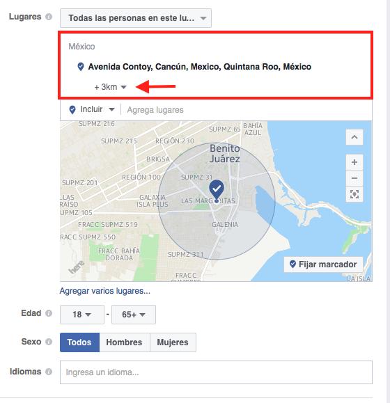 Estrategias para Facebook para Spa