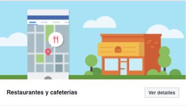 Plantilla restaurantes y cafeterias para fanpage de facebook