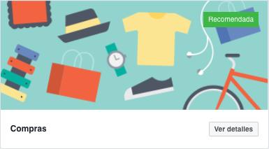 plantilla compras para fanpage facebook
