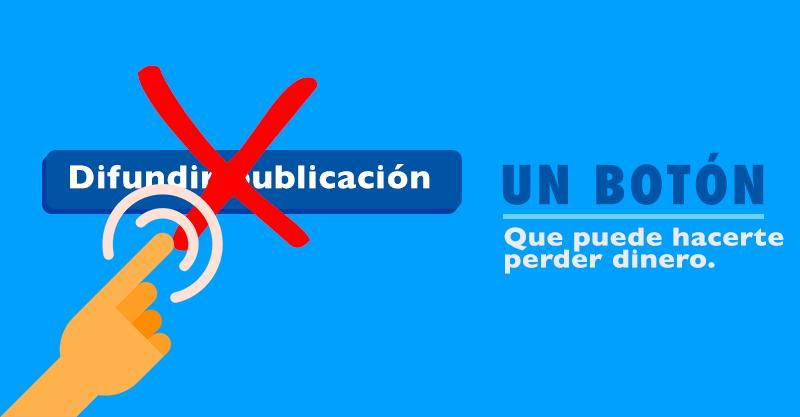 Por que NO deberías usar el botón Difundir Publicación.
