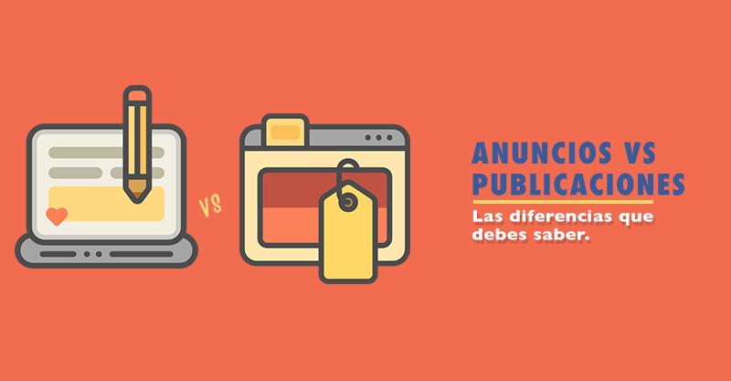 Diferencias entre publicaciones promocionadas y anuncios de Facebook.