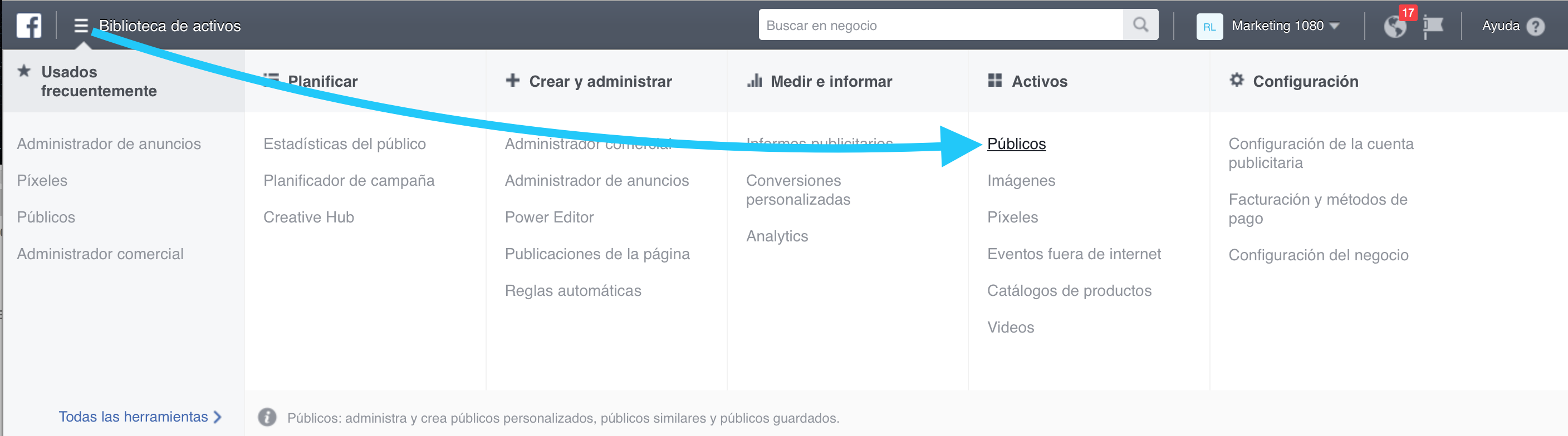 Creando publico personalizado desde tu lista de suscriptores 1 - Aprendamos Marketing
