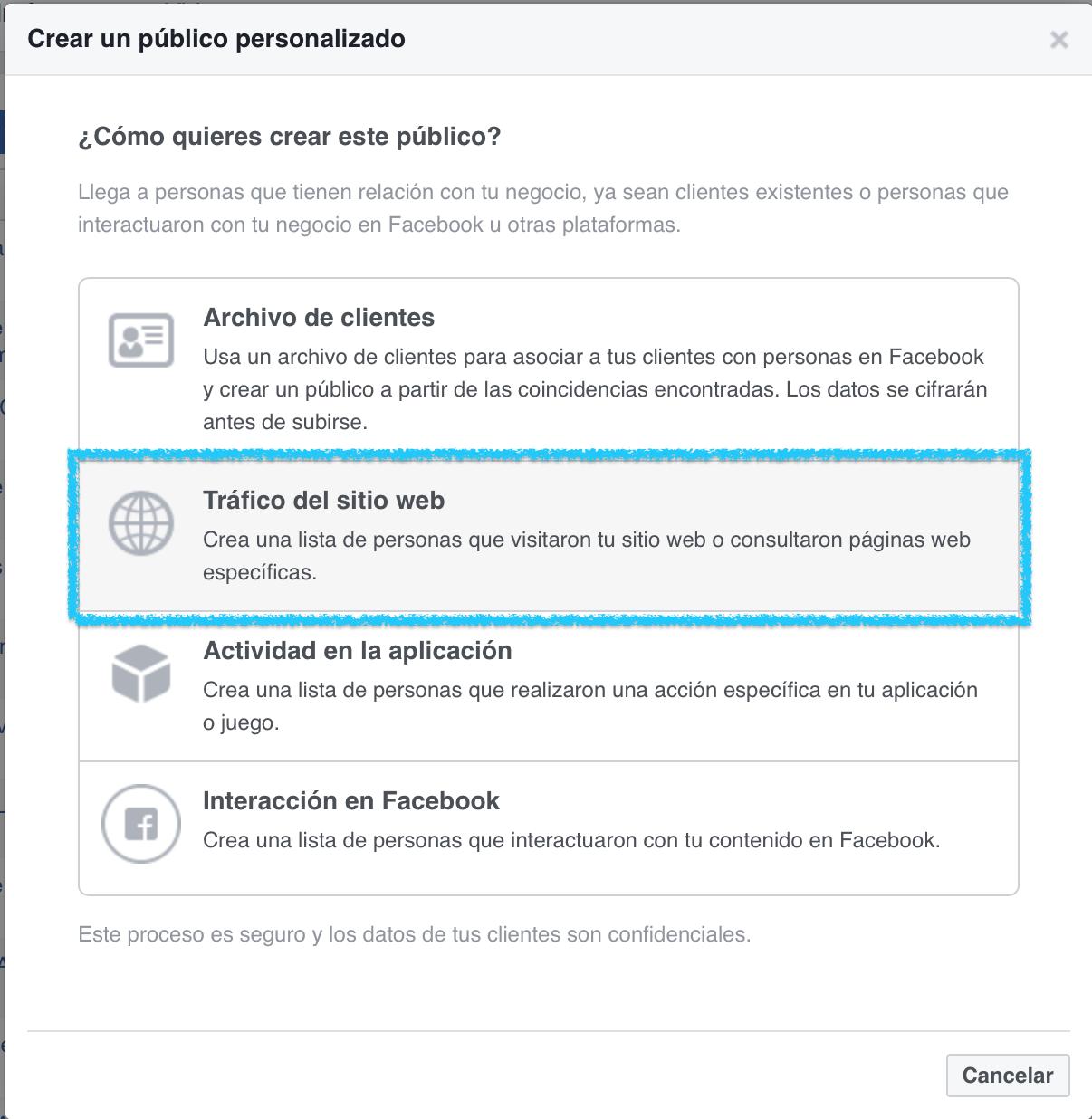 Trucos para anuncios en Facebook - retageting 1