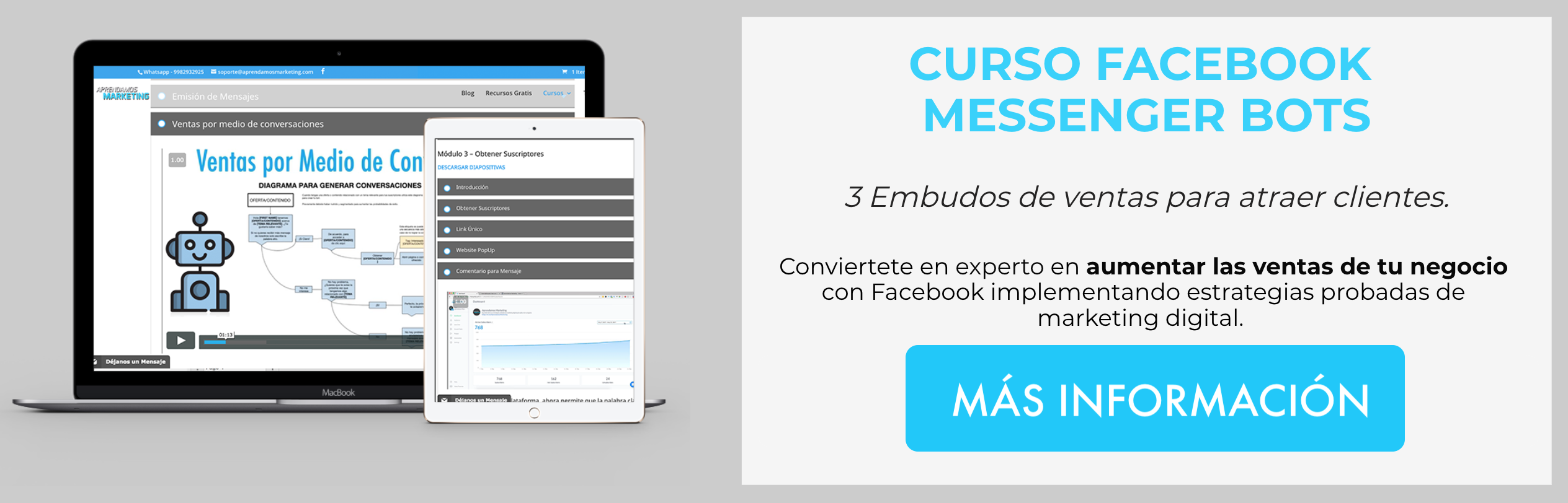 CTA-Blog-Curso Facebook Messenger Bots