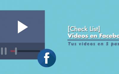 5 Pasos para crear videos exitosos en Facebook