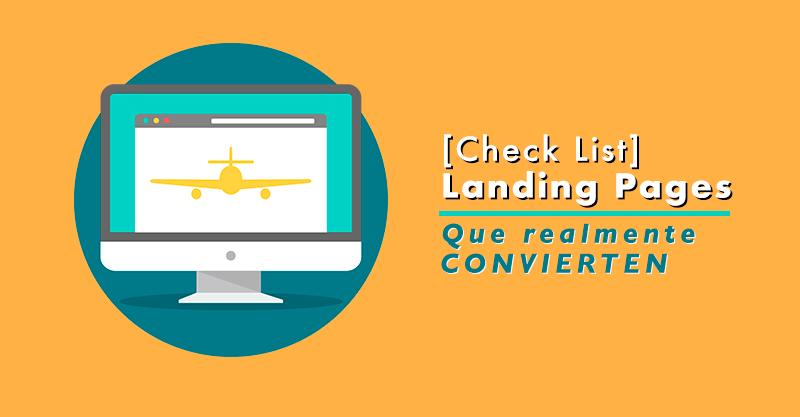 8 Tips para crear páginas de aterrizaje efectivas.