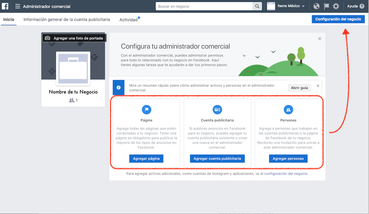 GUÍA] Administrador Comercial de Facebook. - Aprendamos Marketing