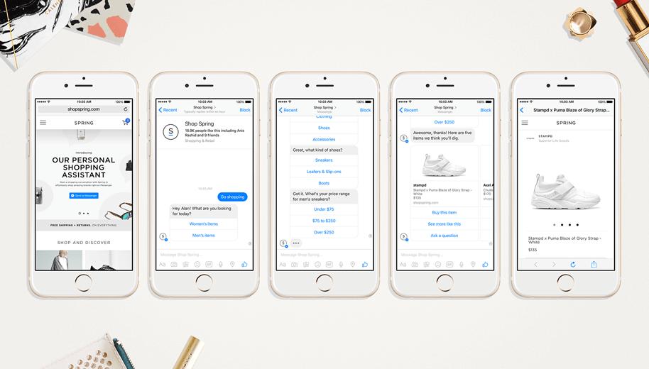 obtener información con secuencias en facebook messenger