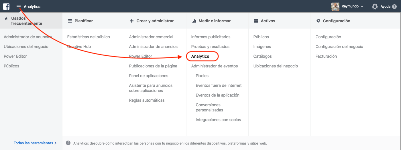 Cómo empezar con Facebook Analytics - Aprendamos Marketing