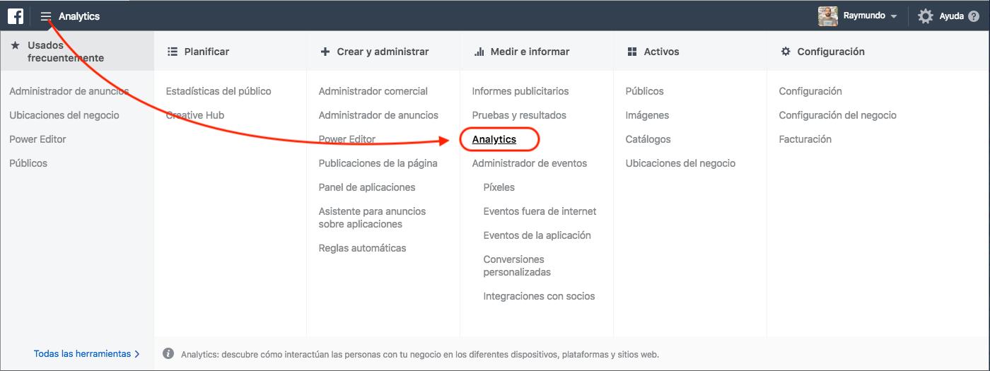 Cómo empezar con Facebook Analytics - Aprendamos Marketing