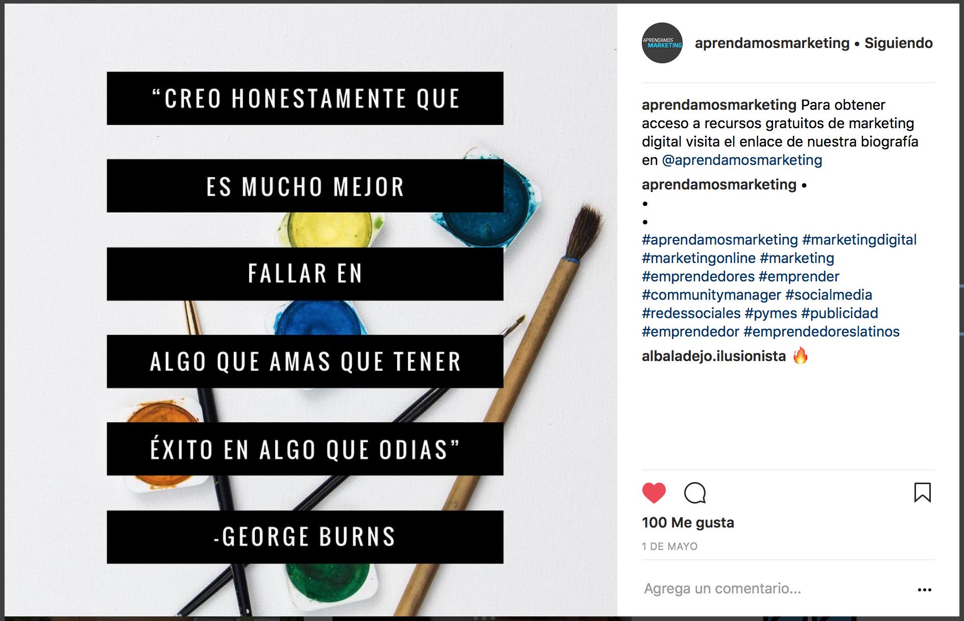 4 pasos para generar tráfico orgánico con Instagram- no solo frases